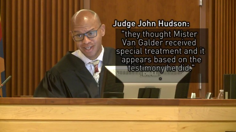 Judge Hudson confirms special treatment